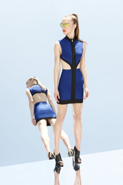 herve leger8 400x600 Herve Leger by Max Azrias Resort 2013 Collection is Comic Book Inspired