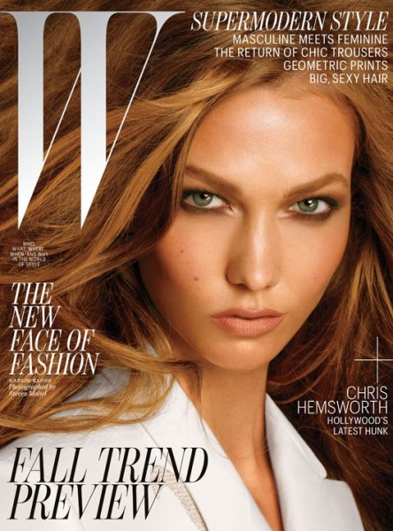Karlie Kloss Graces the July 2012 Cover of W Magazine by Steven Meisel