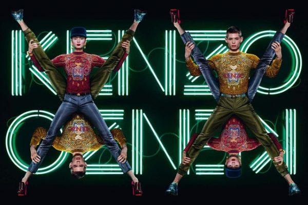 Xiao Wen Shines in Kenzo's Fall 2012 Campaign by Jean Paul Goude