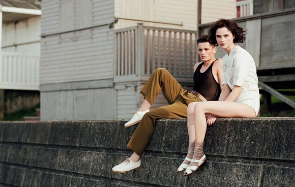 Rasa Zukauskaite & Jace Are Seaside Lovers for Mark Kean's Sleek Summer 2012 Shoot