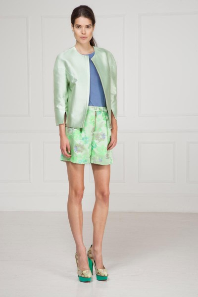matthew williamson18 400x600 Matthew Williamsons Resort 2013 Collection Features Natural & Geometric Prints