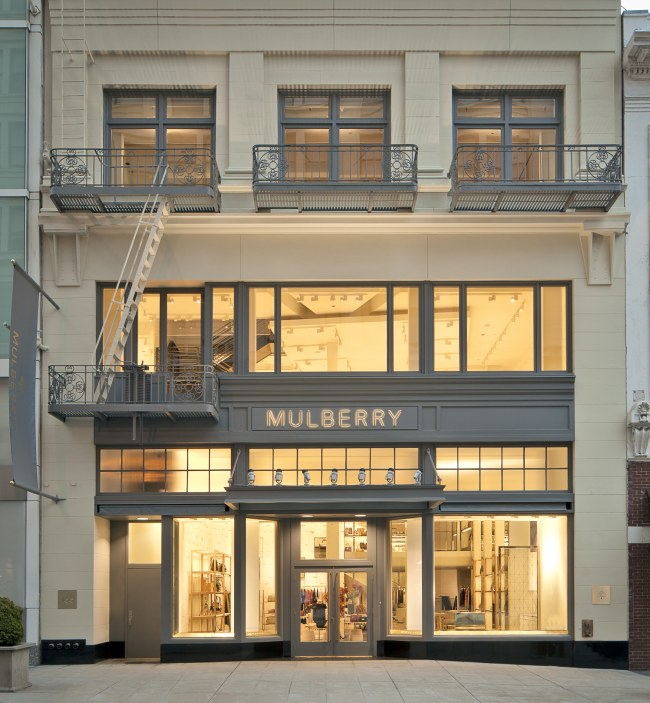 Mulberry Launches First San Francisco Store
