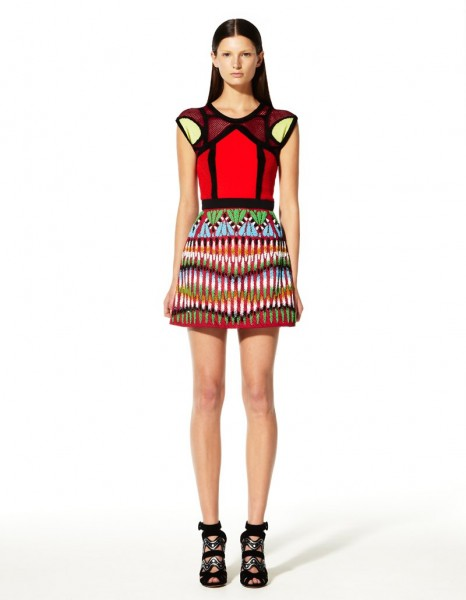 peter pilotto10 466x600 Peter Pilottos Resort 2013 Collection Offers Kaleidoscopic Prints
