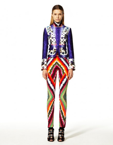 peter pilotto11 466x600 Peter Pilottos Resort 2013 Collection Offers Kaleidoscopic Prints