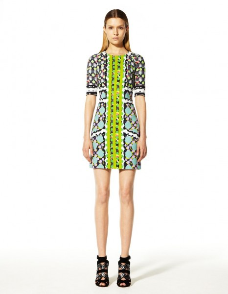 peter pilotto12 466x600 Peter Pilottos Resort 2013 Collection Offers Kaleidoscopic Prints