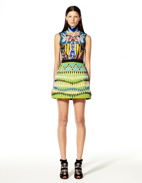 peter pilotto13 466x600 Peter Pilottos Resort 2013 Collection Offers Kaleidoscopic Prints