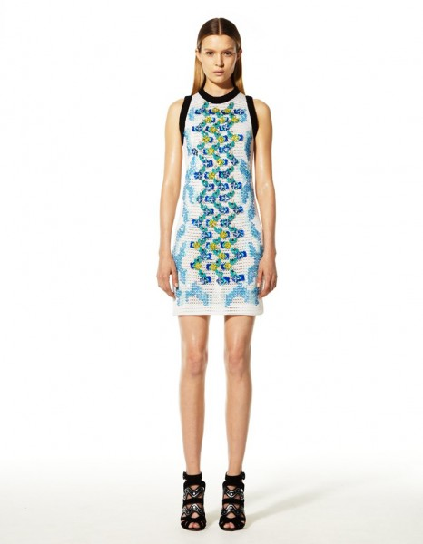 peter pilotto14 466x600 Peter Pilottos Resort 2013 Collection Offers Kaleidoscopic Prints