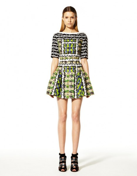 peter pilotto16 466x600 Peter Pilottos Resort 2013 Collection Offers Kaleidoscopic Prints