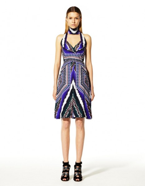 peter pilotto17 466x600 Peter Pilottos Resort 2013 Collection Offers Kaleidoscopic Prints