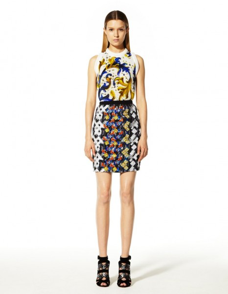 peter pilotto19 466x600 Peter Pilottos Resort 2013 Collection Offers Kaleidoscopic Prints