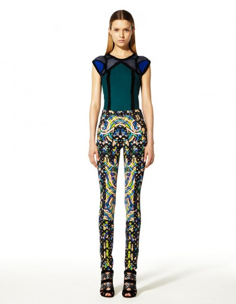 peter pilotto20 466x600 Peter Pilottos Resort 2013 Collection Offers Kaleidoscopic Prints