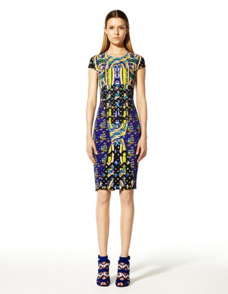 peter pilotto21 466x600 Peter Pilottos Resort 2013 Collection Offers Kaleidoscopic Prints