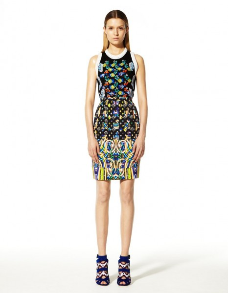 peter pilotto24 466x600 Peter Pilottos Resort 2013 Collection Offers Kaleidoscopic Prints