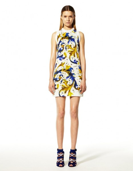 peter pilotto25 466x600 Peter Pilottos Resort 2013 Collection Offers Kaleidoscopic Prints