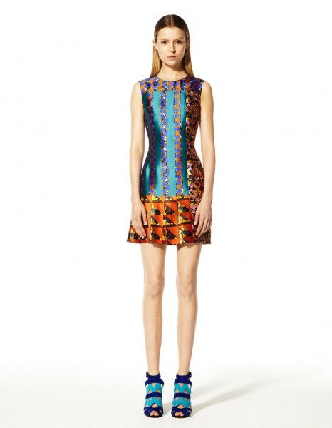 peter pilotto27 466x600 Peter Pilottos Resort 2013 Collection Offers Kaleidoscopic Prints