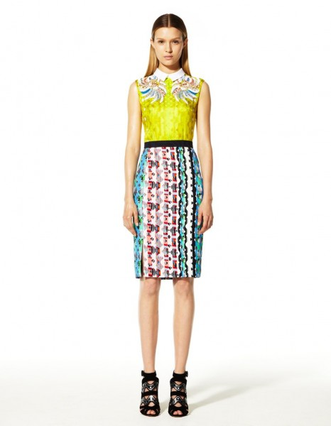 peter pilotto28 466x600 Peter Pilottos Resort 2013 Collection Offers Kaleidoscopic Prints