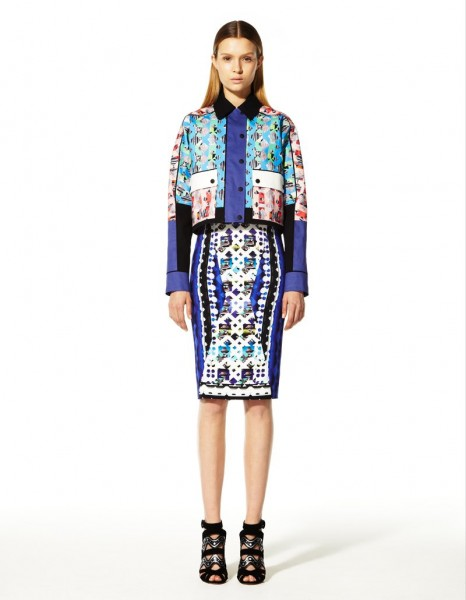 peter pilotto29 466x600 Peter Pilottos Resort 2013 Collection Offers Kaleidoscopic Prints
