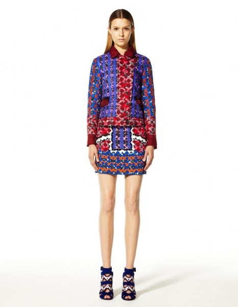 peter pilotto3 466x600 Peter Pilottos Resort 2013 Collection Offers Kaleidoscopic Prints