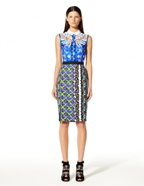 peter pilotto30 466x600 Peter Pilottos Resort 2013 Collection Offers Kaleidoscopic Prints