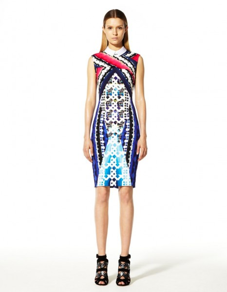 peter pilotto5 466x600 Peter Pilottos Resort 2013 Collection Offers Kaleidoscopic Prints