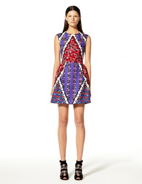 peter pilotto6 466x600 Peter Pilottos Resort 2013 Collection Offers Kaleidoscopic Prints