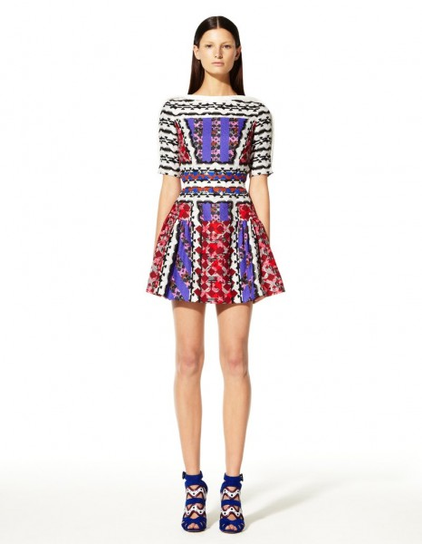 peter pilotto7 466x600 Peter Pilottos Resort 2013 Collection Offers Kaleidoscopic Prints