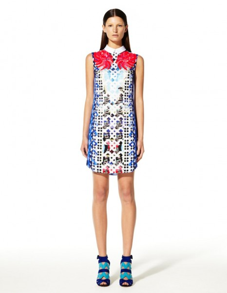 peter pilotto8 466x600 Peter Pilottos Resort 2013 Collection Offers Kaleidoscopic Prints