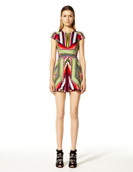 peter pilotto9 466x600 Peter Pilottos Resort 2013 Collection Offers Kaleidoscopic Prints