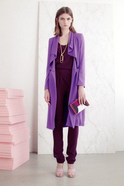 vionnet22 400x600 Vionnets Resort 2013 Collection Offers Airy & Modern Femininity