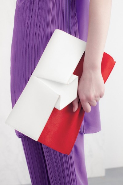 vionnet23 400x600 Vionnets Resort 2013 Collection Offers Airy & Modern Femininity
