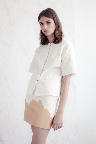 vionnet4 400x600 Vionnets Resort 2013 Collection Offers Airy & Modern Femininity