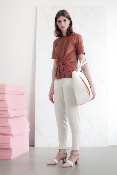 vionnet6 400x600 Vionnets Resort 2013 Collection Offers Airy & Modern Femininity