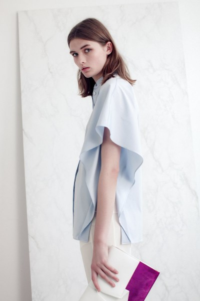 vionnet9 400x600 Vionnets Resort 2013 Collection Offers Airy & Modern Femininity