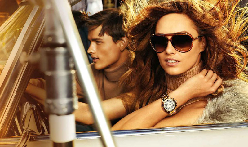 Karmen Pedaru Gives Hollywood Attitude for Michael Kors' Fall 2012 Campaign, Shot by Mario Testino