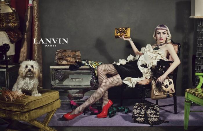 Lanvin's Fall 2012 Campaign Features Unique Stars by Steven Meisel