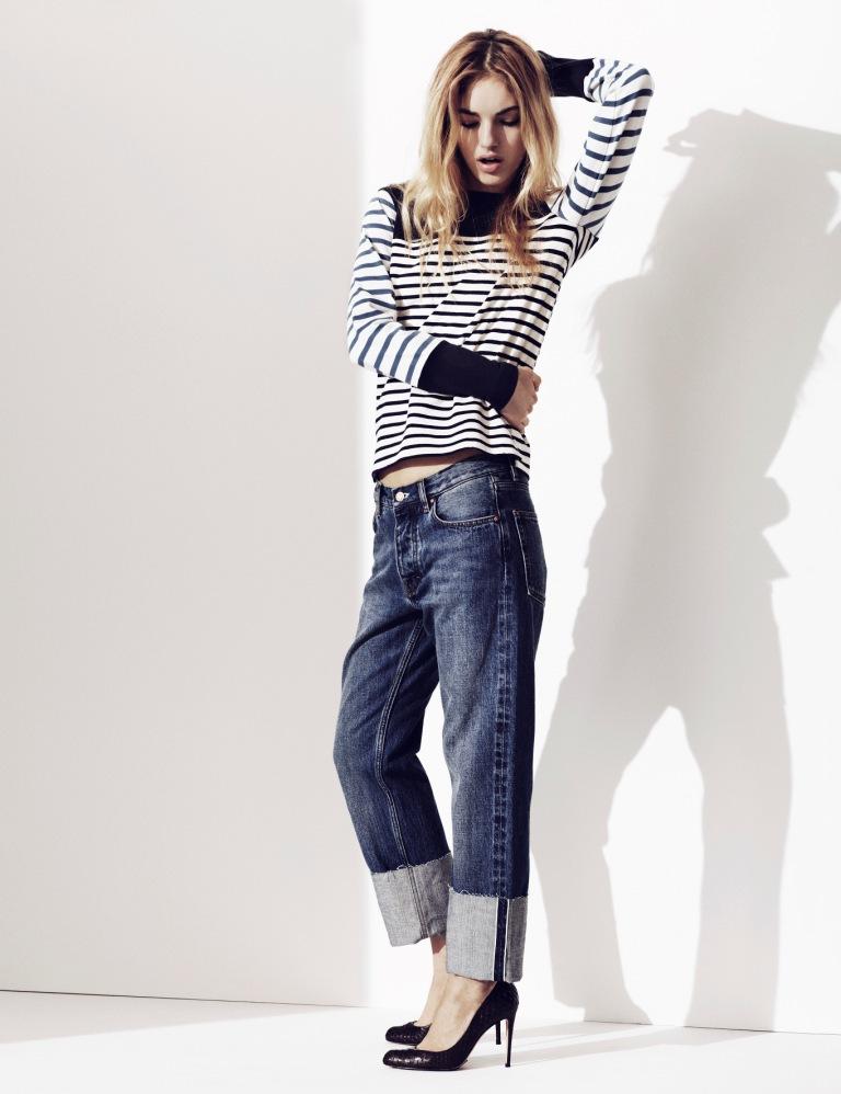 Naomi Preizler Stars in MiH Jeans' Pre-Fall 2012 Campaign by Oskar Gyllenswärd