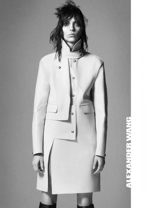 Kati Nescher is a Sleek Beauty for Alexander Wang's Fall 2012 Campaign by David Sims