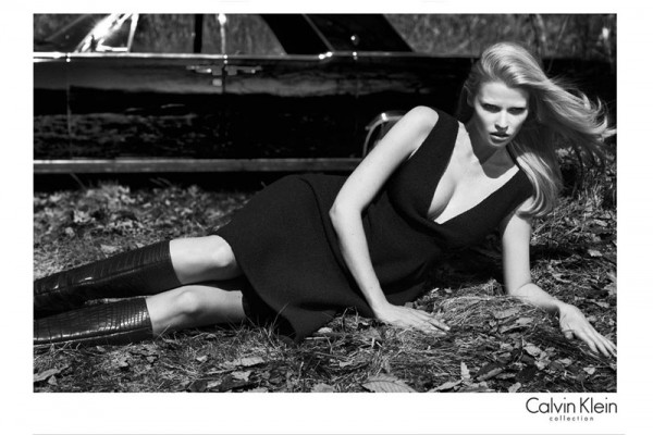 Lara Stone Stars in Calvin Klein's Fall 2012 Campaign by Mert & Marcus