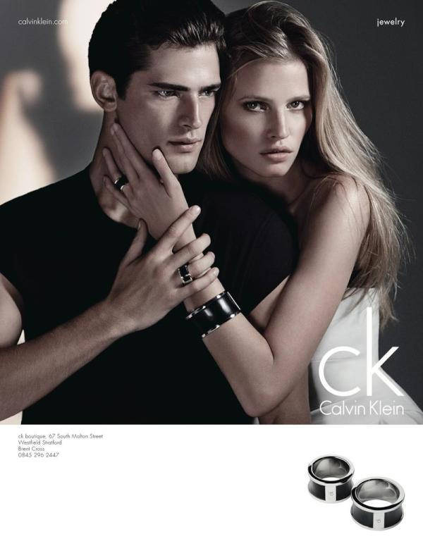 Lara Stone Fronts CK Calvin Klein's Fall 2012 Watch & Jewelry Campaign by Patrick Demarchelier
