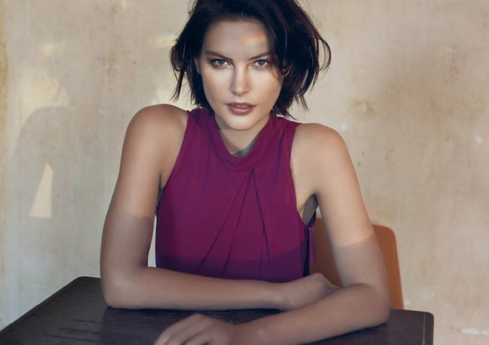Catherine McNeil Is Radiant in Cue's Summer 2012 Campaign by Derek Henderson