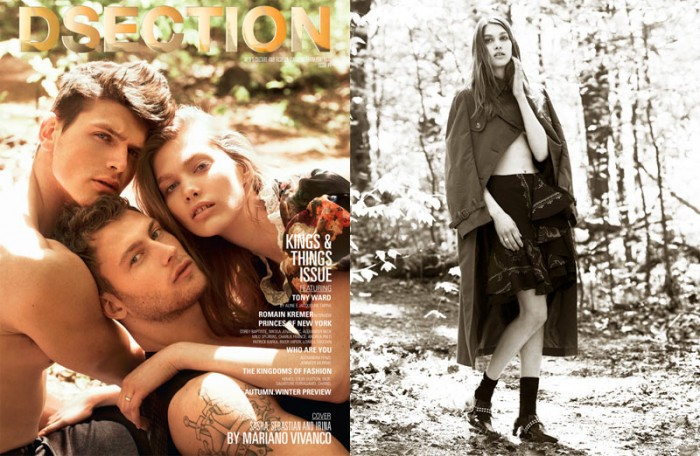 Mariano Vivanco Captures a Love Triangle for Dsection #4