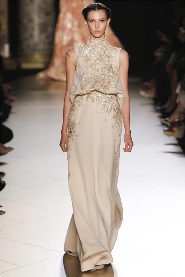 2012 Fall 2013 Winter Nail Polish Trends: Elie Saab Fall 2012 Couture