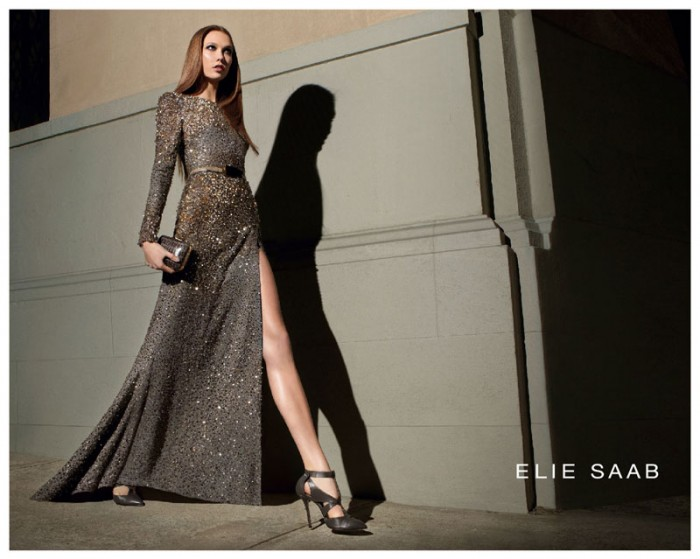 Karlie Kloss Returns as the Face of Elie Saab's Fall 2012 Campaign by Glen Luchford