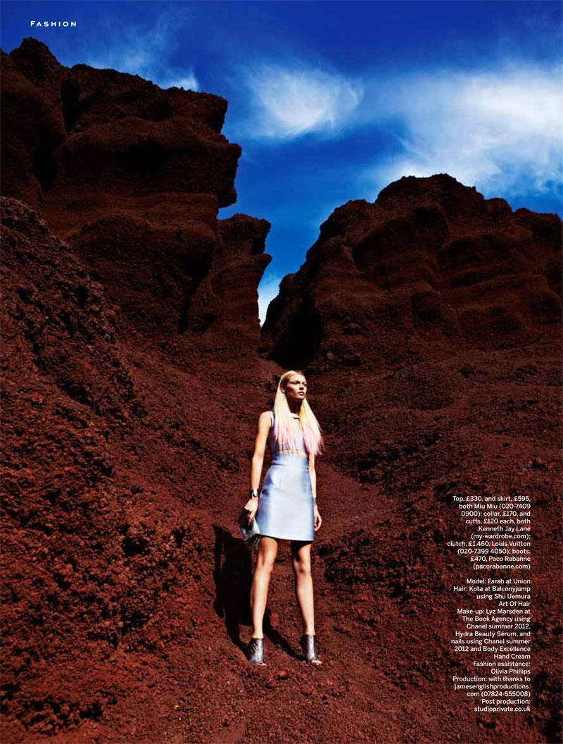 Paul Smith Captures Sci-fi Fashion for Stylist Magazine