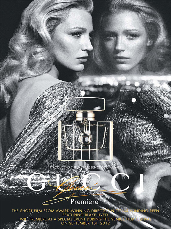 Blake Lively Gets Glam for Gucci's 'Première' Fragrance Campaign by Mert & Marcus