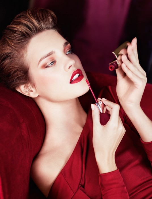 Natalia Vodianova Shines in Rouge Shades for Guerlain's Fall 2012 Campaign