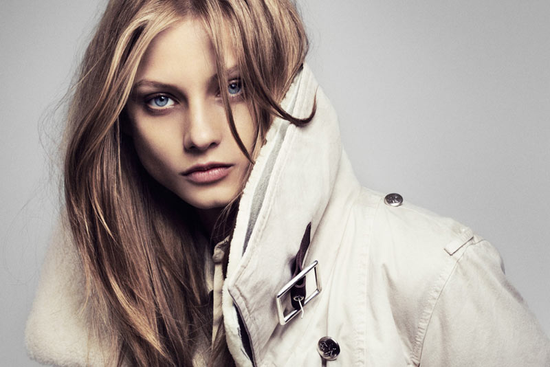 Anna Selezneva is Casual Cool in Hunkydory's Fall 2012 Campaign by Marcus Ohlsson