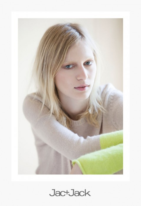Julia Nobis Keeps it Natural in Jac + Jack's Spring 2012 Campaign by David Armstrong