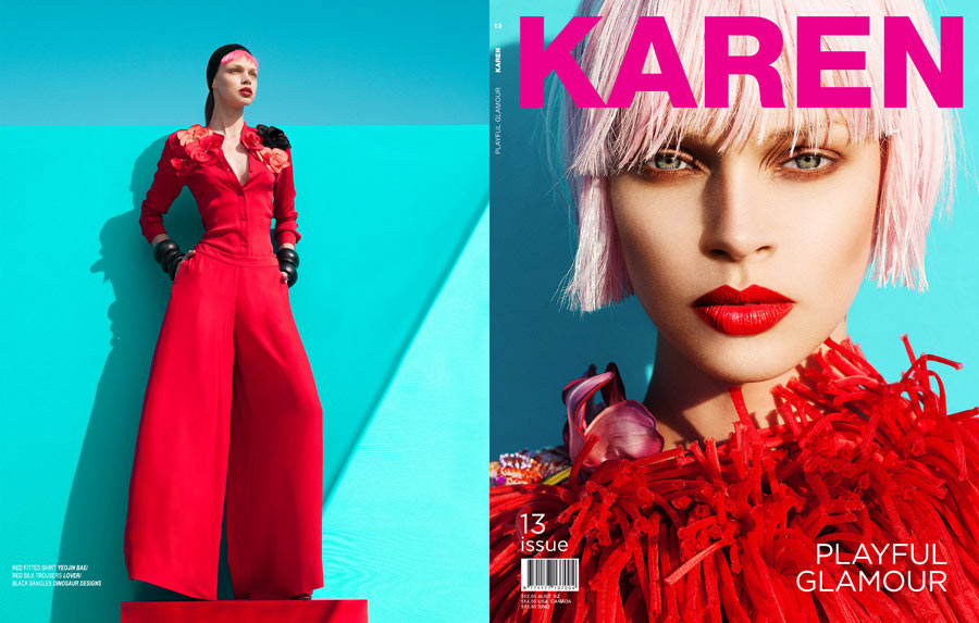 Mikael Wardhana Captures Candy Colored Fashion for Karen #13