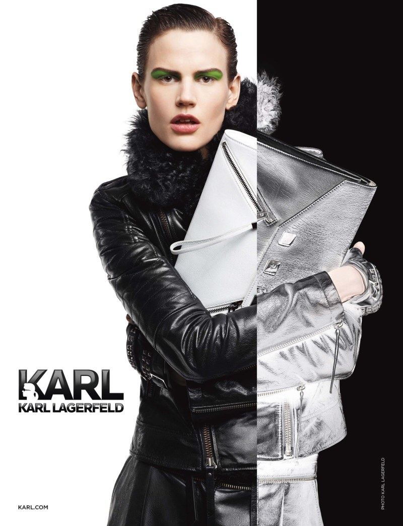 Saskia de Brauw & Sui He Star in Karl by Karl Lagerfeld's Fall 2012 Campaign